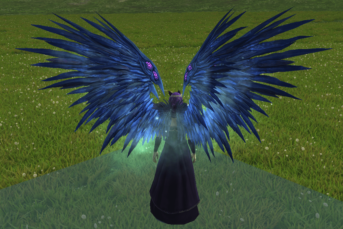 Costume - Ice Harpy Wings1350 Credits