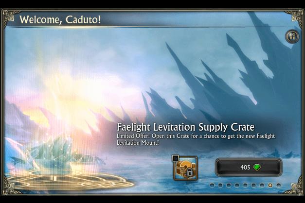 Mount - Faelight LevitationSupply Crate
