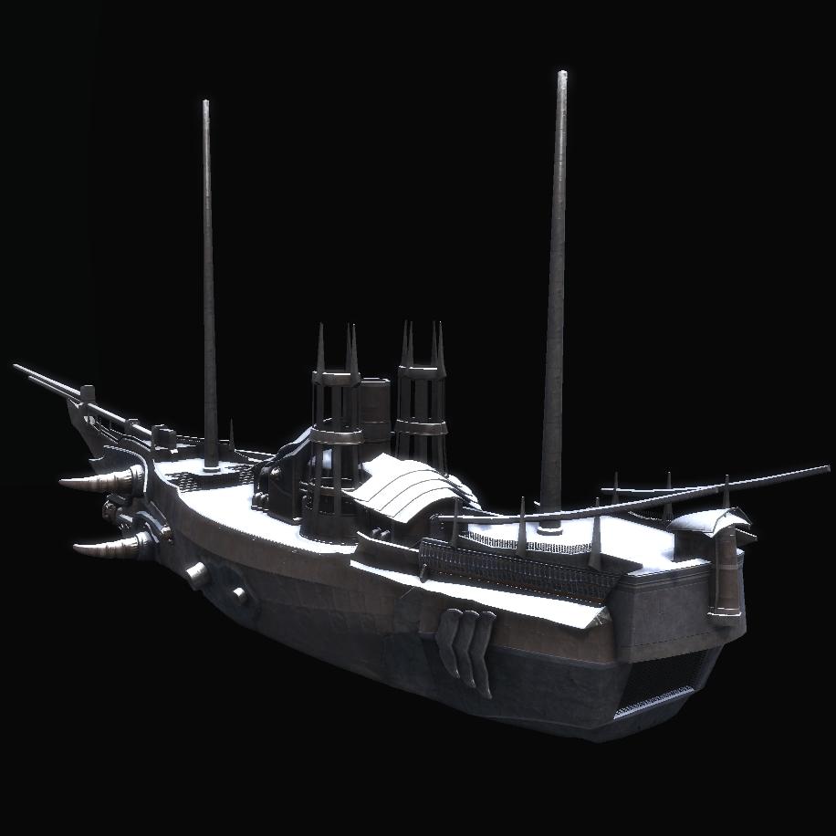 Frozen Warship