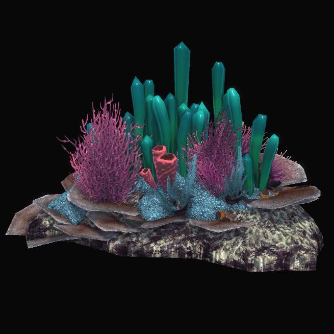 Small Coral Rock