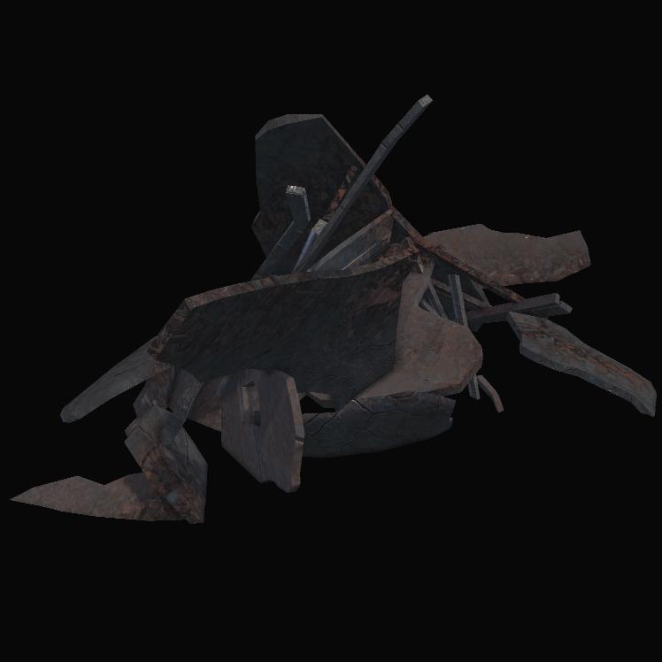 Sunken Ship Parts