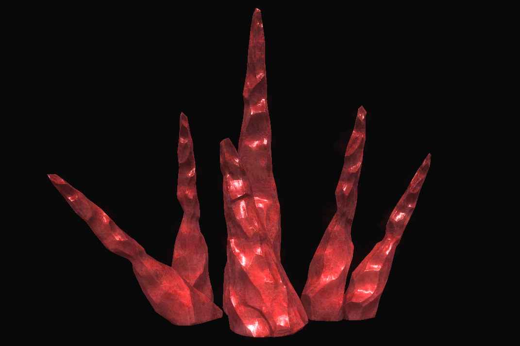 Red Crystal Structure