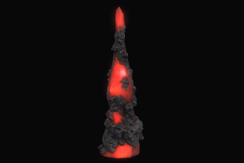 Strong Red Spire