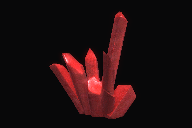 Durable Red Crystal