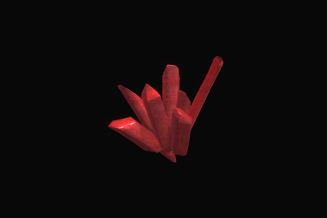 Strong Red Crystal