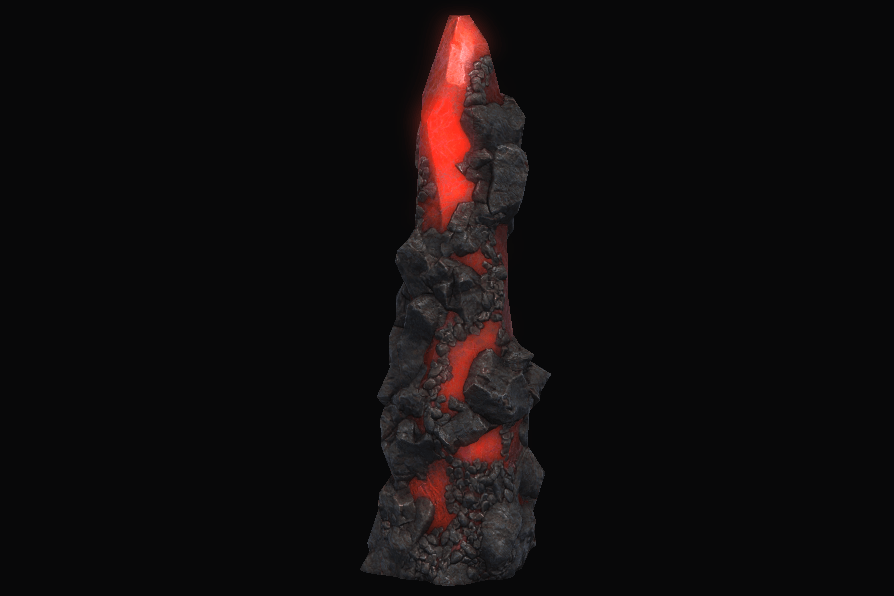 Durable Red Spire