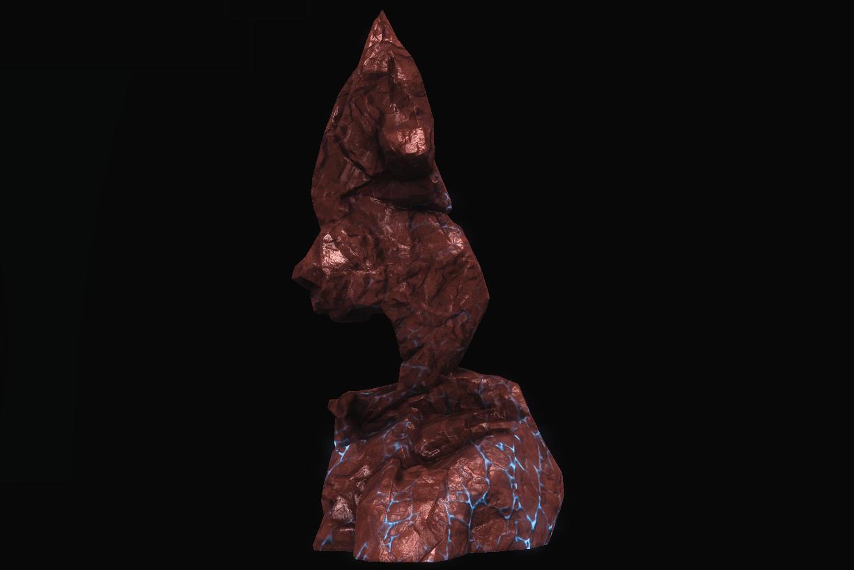 Hellscape Hewn Stone