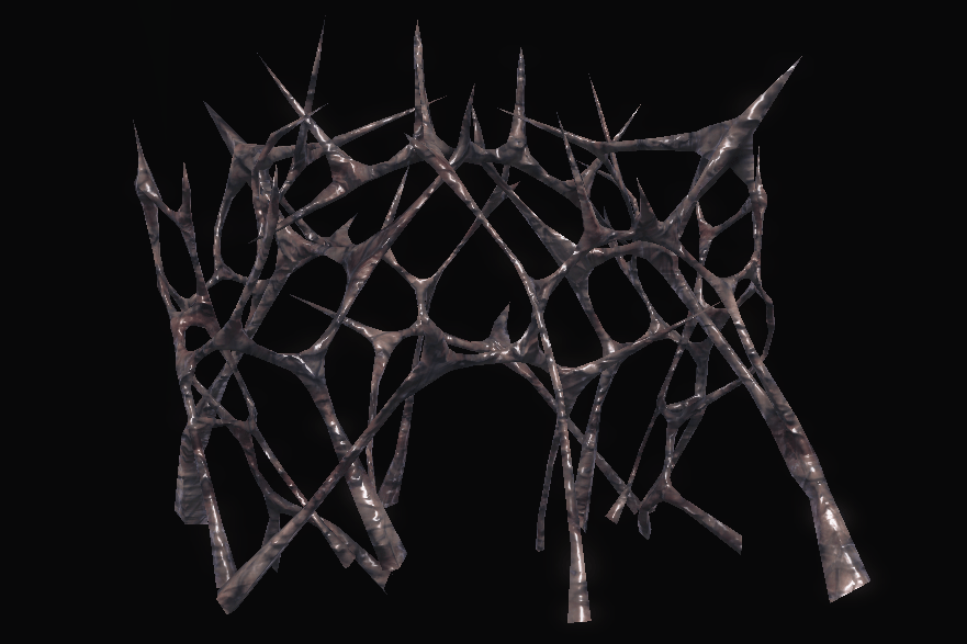 Unsettling Membrane (No Collision)