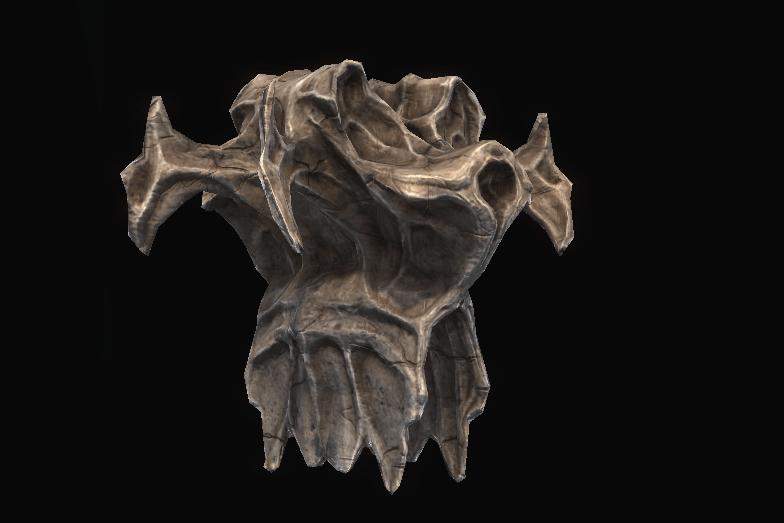 Giant Vertebrae