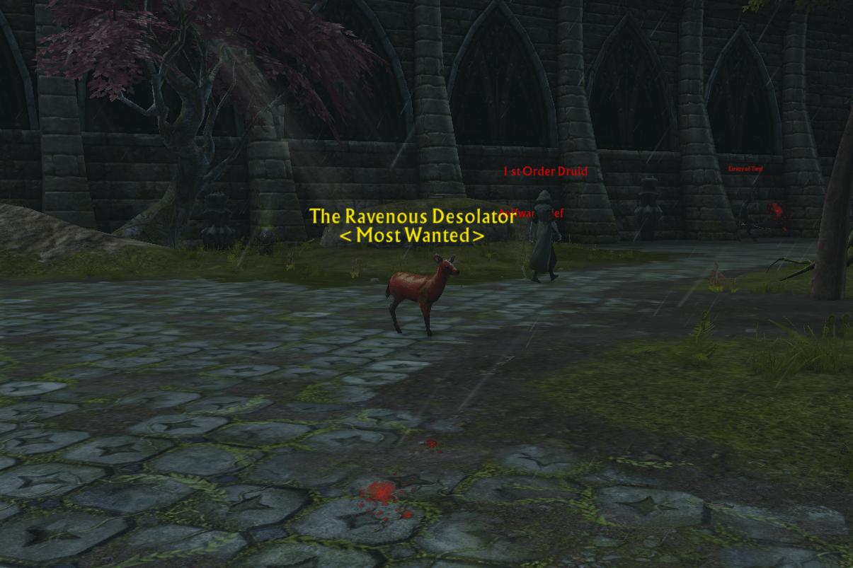 Bounty: DeerFrom The Ravenous Desolator