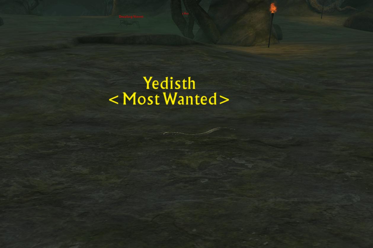 Bounty: SnakeFrom Yedisth