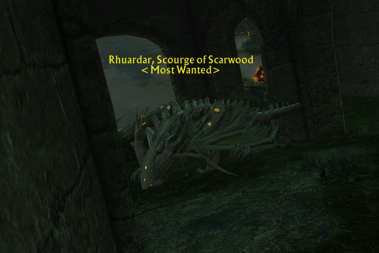 Bounty: DrakeFrom Rhuardar, Scourge of Scarwood