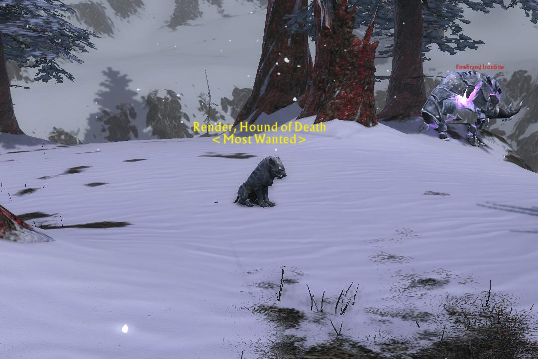 Bounty: BarghestFrom Render, Hound of Death