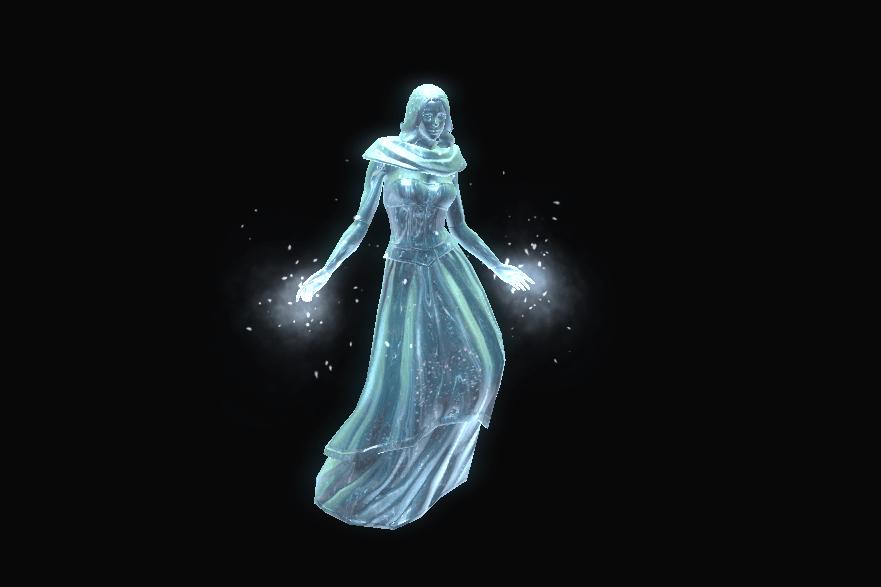 Icy Levitation - 30 Icicles + 1000 Snowflakes