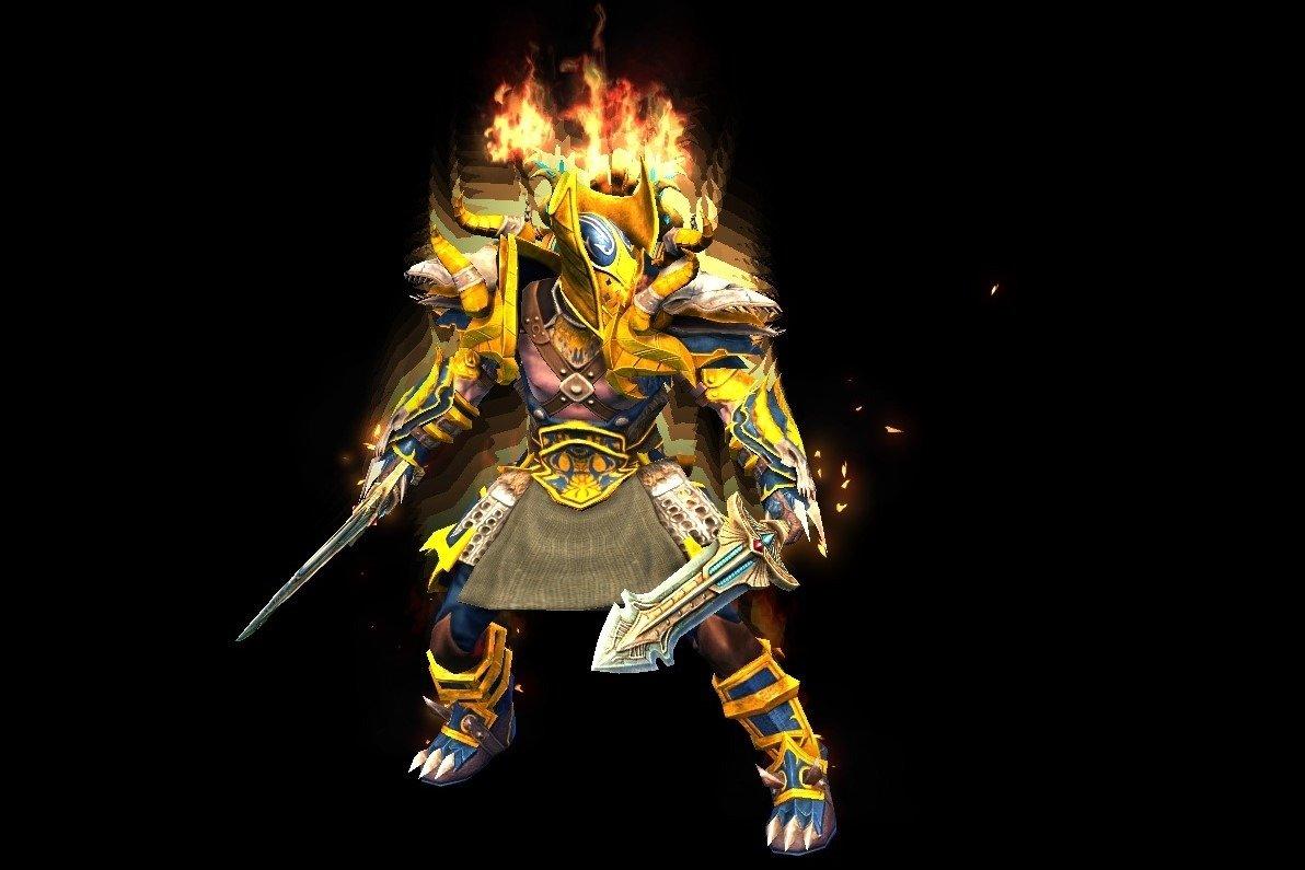 Gladiator of Greed