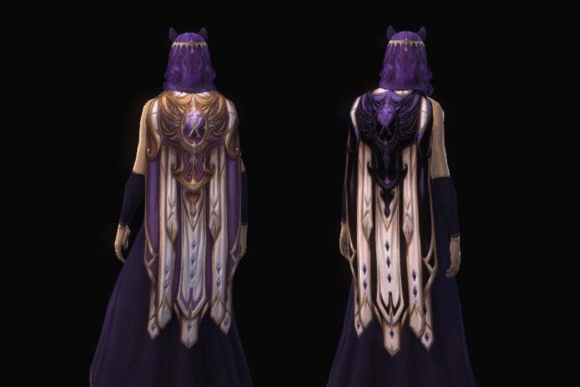 Back - Tenth Anniversary Cape (2021)1 Doubloon + 300 Glass Beads