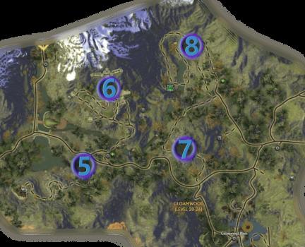 Mathosia - Gloamwood - Bounty Map