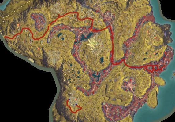 Mathosia - Planetouched Wilds - Bounty Map - resized1