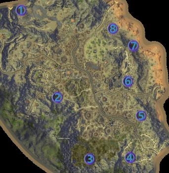 Mathosia - Scarwood Reach - Bounty Map