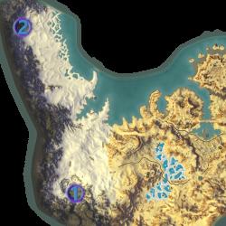 Mathosia - Shimmersand - Bounty Map
