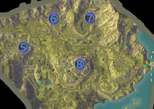Mathosia - Silverwood - Bounty Map