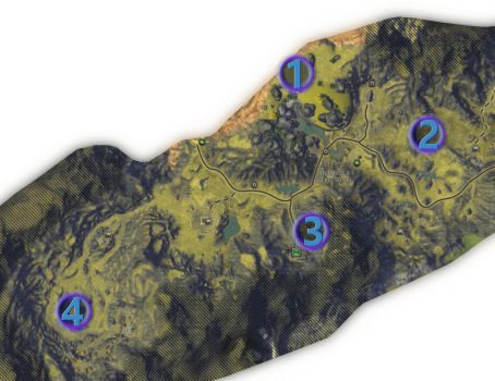 Mathosia - Stonefield - Bounty Map