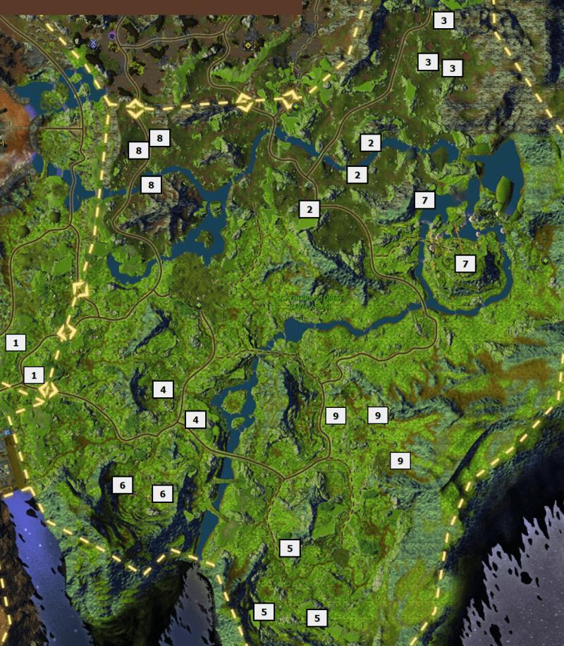 SCATHERRAN FOREST rares