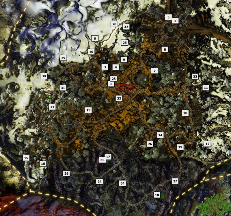 VOSTIGAR PEAKS rares